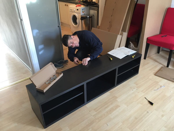 Flat pack furniture assembly service hertfordshire your man with a van herts - Diy tips assembling flat pack furniture ...
